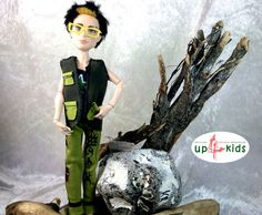 CoolGreen 3 Teile Monster High Jungs Jason Deuce 3 tlg  6814031 Puppenkleid Adventskalenderfüllung