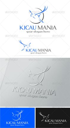 Bird Logo Template — Vector EPS #flying #luxury • Available here → https://graphicriver.net/item/bird-logo-template/5150333?ref=pxcr
