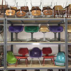 #Eames #Hermanmiller #charlesandrayeames #shellspotting #alexandergirard