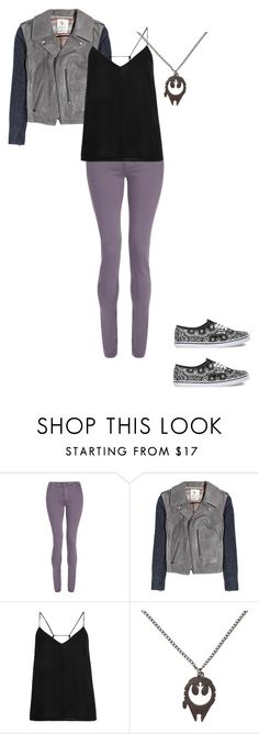 """""""rosa - iceburg"""" by caitycaitcakes ❤ liked on Polyvore featuring dVb Victoria Beckham, MiH Jeans, Topshop, Vans, women's clothing, women's fashion, women, female, woman and misses"""