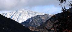 San Gabriel Mountains, Winter
