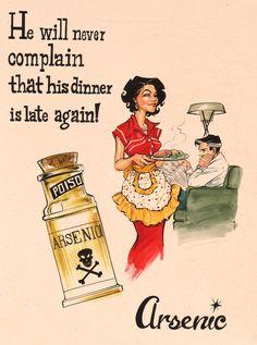 Vintage Ad Parody - Arsenic, artwork by Joëlle Jones.