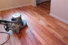 Finishing a wood floor with penetrating oil sealer