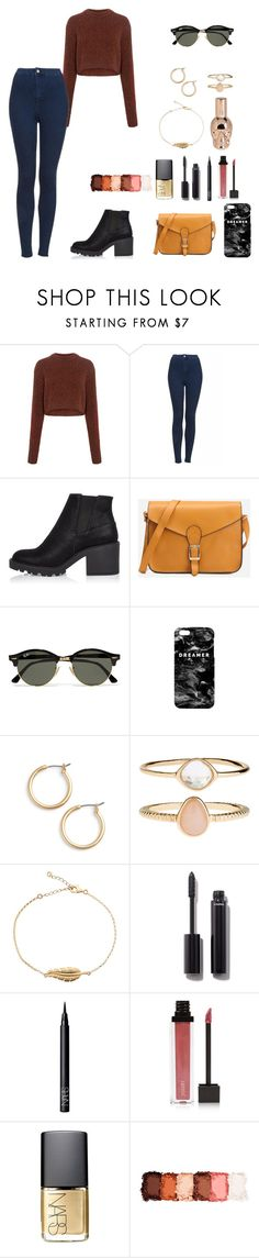 """""""sweater weather"""" by halrahmah ❤ liked on Polyvore featuring TIBI, Topshop, River Island, Ray-Ban, Mr. Gugu & Miss Go, Nordstrom, Accessorize, Chanel, NARS Cosmetics and Jouer"""