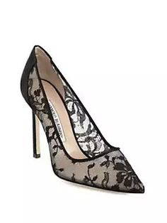 332e17fdd5395 High End Shoes, Black High Heels, Black Shoes, Manolo Blahnik Heels, Shoe