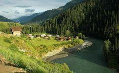 Helmet Village Neelam Vally, Azad #Kashmir #Pakistan