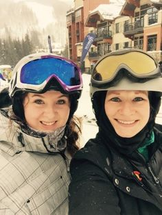 Amalie Kropp and friends in Vail #BeActive!