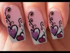 50 Romantic Valentines Day Nail Designs | Nail Design Ideaz