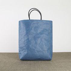 SIWA Flat L Bag in Dark Green Designed by Naoto Fukasawa - OEN Shop