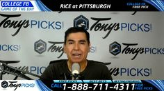 Rice Owls vs. Pittsburgh Panthers Free NCAA Football Picks and Predictio...