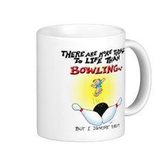 More Things Than Bowling Coffee Mugs
