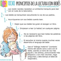 8 Principios de lectura para bebés