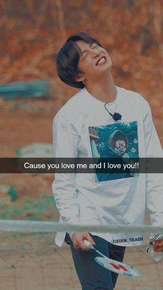 My Side, Jikook, I Love You, Bts, Baseball Cards, Te Amo, Je T'aime, Love You