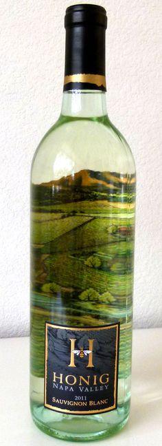 Nice wine label
