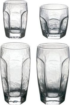 Classic Old-Time Jelly Glasses