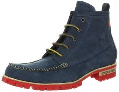 DSQUARED2 Men's Sexy Hiking Nabuk Boot DSQUARED2. $675.00. Made in Italy. Rubber sole. leather
