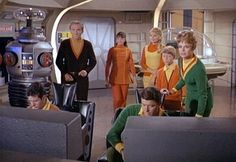 """Lost in Space"" tv show -- click on the picture to read about this fun Atomic Age show :-)"