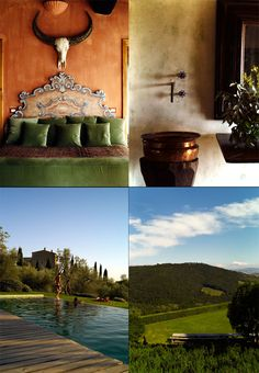"""Castello di Vicarello - Tuscany, Italy  """"Arguably the best holiday we've ever had anywhere, even in Italy, our favorite country, that manages to deliver every time."""""""
