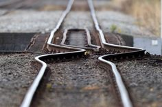 """""""Most Surprising Pictures of 2011: TIME Photo Editor Picks"""" -- Shown: """"A rail line buckled by the shifting earth is pictured in Christchurch, New Zealand, on Feb. 23, 2011, a day after a deadly 6.3-magnitude earthquake rocked the city."""" [Photo 2 of 43]"""