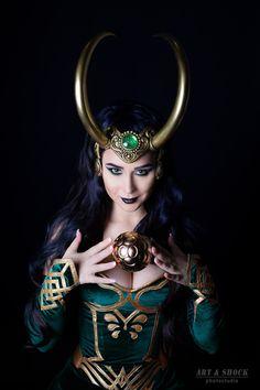 Lady Loki - Lady Loki コスプレ写真 - Cure WorldCosplay                              …