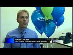 See the local news story announcing Ryan Devlin's initiation into the PBS LearningMedia Digital Innovators program.