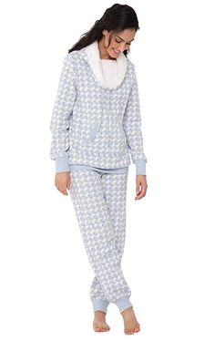 853d5eb046 online shopping for PajamaGram PajamaGram Soft Fleece Pajamas Women -  Womens Pajama Sets from top store. See new offer for PajamaGram PajamaGram Soft  Fleece ...