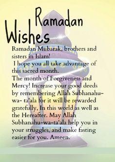 Ramadan mubarak wishes messages and ramadan greetings stuff to ramadan wishes m4hsunfo