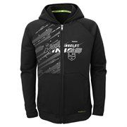 Youth Los Angeles Kings Reebok Black TNT PlayDry Full Zip Hoodie from cbc website, for Ryan