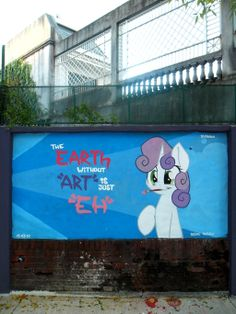 eARTh - Sweetie Belle Graffiti by ShinodaGE on deviantART