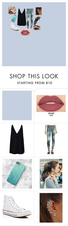 """""""Magnus Bane"""" by harmony145 ❤ liked on Polyvore featuring beauty, Smashbox, STELLA McCARTNEY, Inspired Hearts, pinkage, Converse and Lucky Brand"""