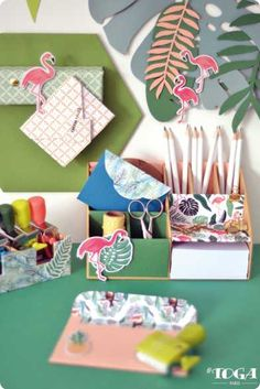 DIY - Comment faire Work Space : Mon Organiseur Jungle ? Conseil