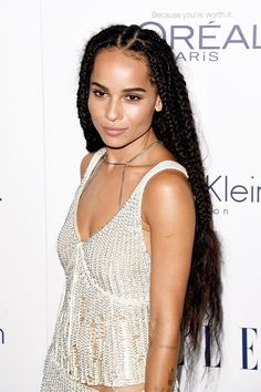 Zoë Kravitz Hairstyle - Hair Pop | Hair Extensions - www.HairPop.net