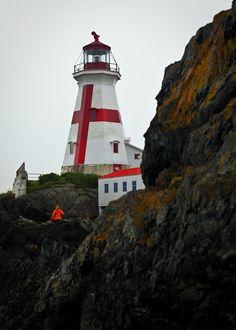 East Quoddy Head #Lighthouse, Campobello Island, Maine…