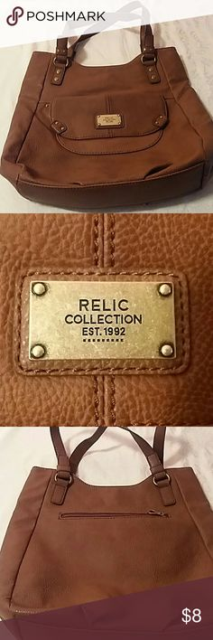 Relic collection brown purse Relic collection brown gently used condition pet friendly home and smoke free home Relic collection Bags Shoulder Bags