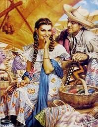 Image result for vintage mexican pin up art