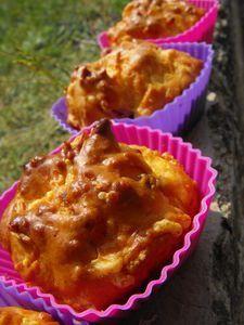 Minis cakes lardons gruyère, Recette Ptitchef