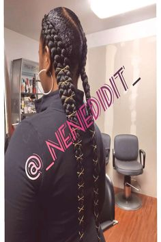 My first time doing this style. What is it called? We'll just cYou can find Long braids and more on our website.My first time doing . Long Braids, What Is It Called, First Time, Dreadlocks, Website, Hair Styles, People, Beauty, Hair Plait Styles