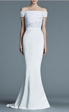 J. Mendel Bridal Look 5 on Moda Operandi
