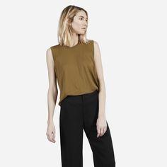 The Luxe Sweater Sleeveless - Everlane