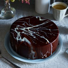 Alice's Chocolate Butter Glaze