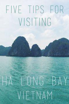 Five Tips for Visiting Ha Long Bay, Vietnam   http://www.thekitchenpaper.com/five-tips-visiting-ha-long-bay-vietnam/