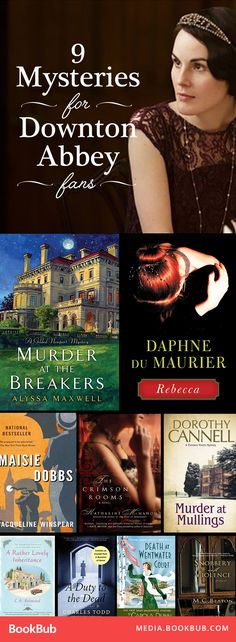 Gripping mystery books to read for Downton Abbey fans. Filled with drama and intrigue from the Edwardian period!