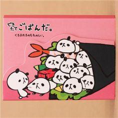 kawaii pink panda bear Sushi mini Note Pad Mind Wave Mind Wave http://www.amazon.com/dp/B00JQHM2A4/ref=cm_sw_r_pi_dp_NIKItb0395JD7T3X