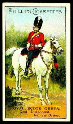 Cigarette Card - Royal Scots Greys