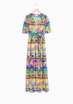 & Other Stories image 1 of Summer Fiesta Print Dress in Summer Fiesta Print