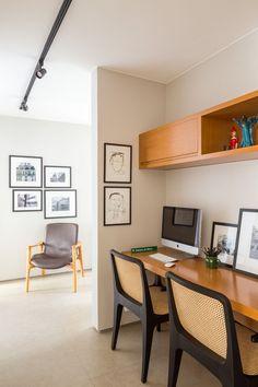 Interior Exterior, Interior Architecture, Interior Design, Cozy Home Office, Craft Desk, Study Rooms, Apartment Design, Cozy House, Decoration
