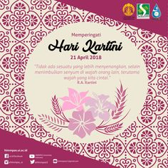 #kartinisday #harikartini #21april #womendays #smile #indonesia cr: me/Himmpas UI 2018