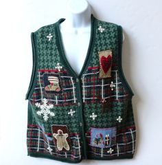 Tacky Christmas Sweater Vest from Nutcracker by SucresDaintyDish, $25.00