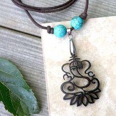 Ganesha - Yoga Necklace #fashion #thechiccasa #necklaces
