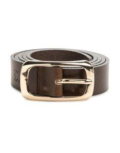 Leather Midi Belt
